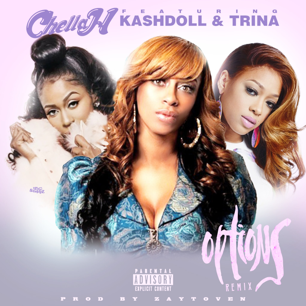 New Music Chella H Options Ft Kashdoll Trina Chellachicago